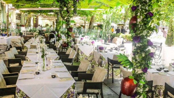 Restaurante malvar hotel hospes puerta de alcal en madrid cibeles parque del retiro men - Hotel hospes puerta de alcala ...