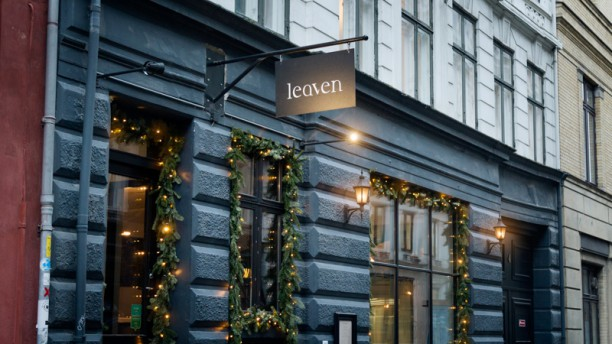 Restaurant Leaven Leaven at Christmas time
