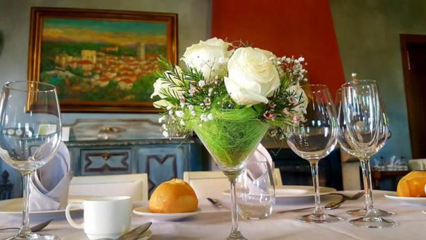 Restaurante Posada del Infante - Posada Real Detalle de la mesa