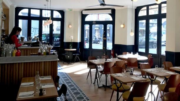 Café Marmot Vue de la salle