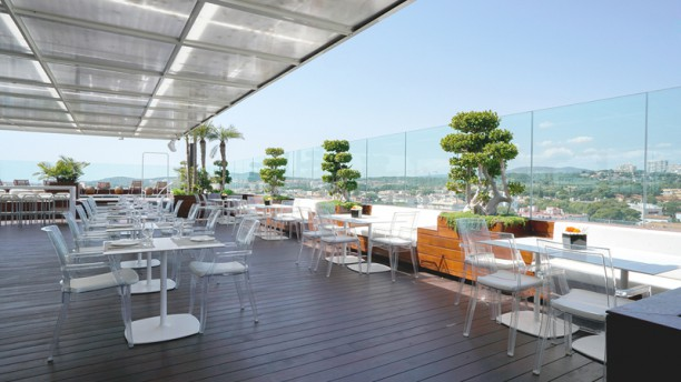Restaurante LAND / SKY BAR - Hotel MiM Sitges Terraza