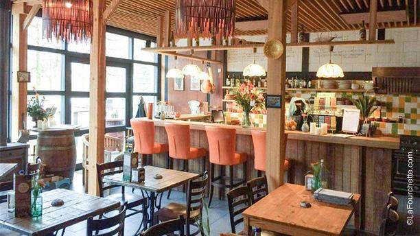 Casa Maya Tapas & Wijn Het restaurant