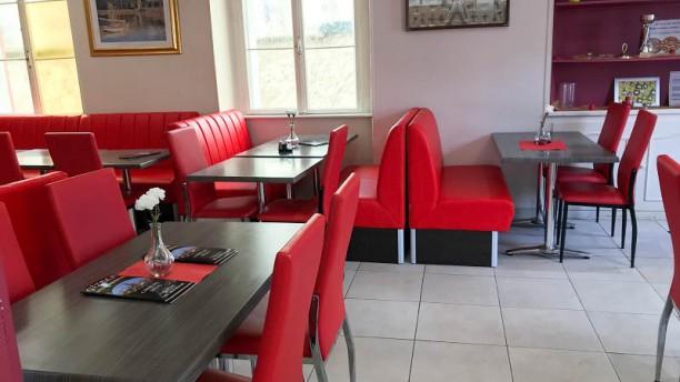 Restaurant Gizela Vue de la salle