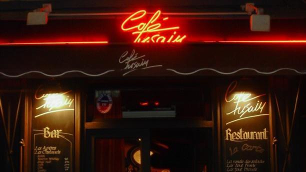 Café Fusain Vue exterieur