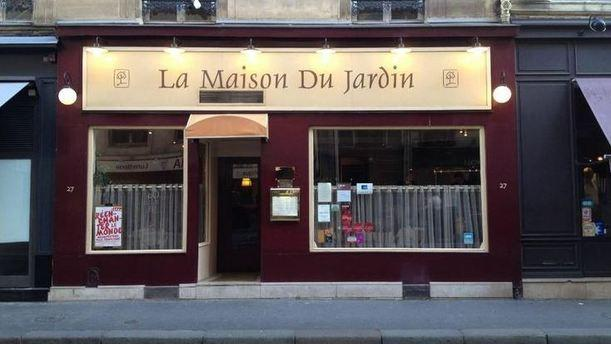 Restaurant la maison du jardin paris 75006 saint for Restaurant dans jardin paris