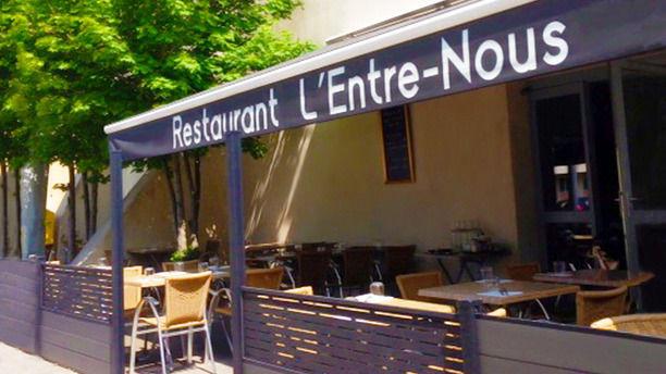 Entre-nous l'entrée du restaurant