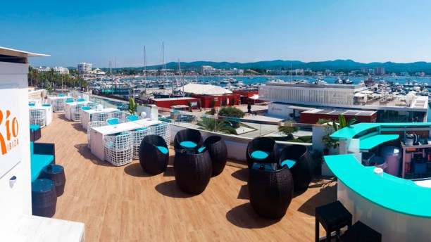 Río Ibiza Terraza (Azotea) de Rio Ibiza