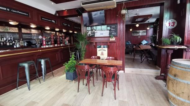 Le Green Corner Salle du restaurant