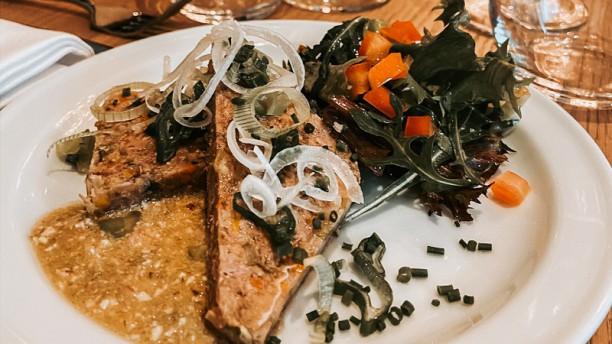 Les Salons d'Anthouard Suggestion de plat