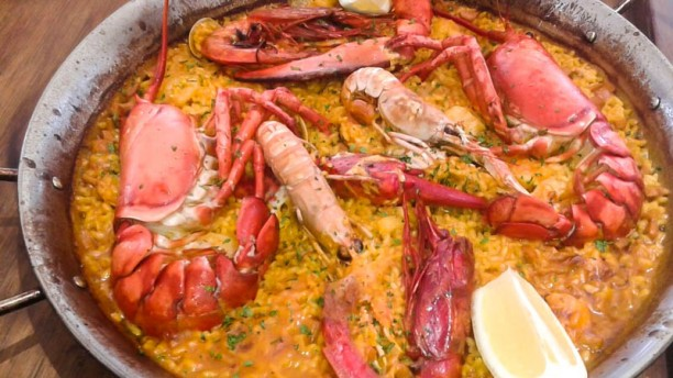 Seasoul Restaurant & Beach Club Arroz con Bogavante