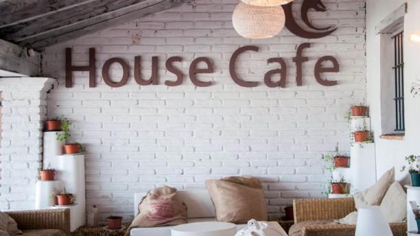 House Café Sierra Nevada Vista del interior
