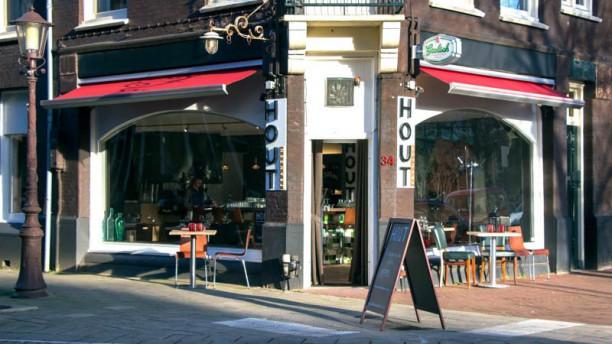 Hout (Amsterdam) terras