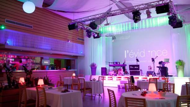L'Évidence Salle du restaurant