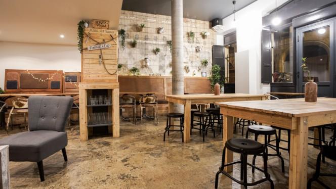 Vue de la salle - Cafeincup - Le Brunch, Bordeaux