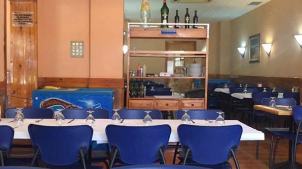 Restaurant cafeteria Sancho Vista sala