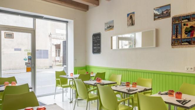 Salle du restaurant - Les Saveurs Afghanes, Nantes