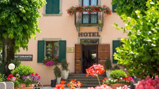 Hotel Ristorante Fabbrini Entrata