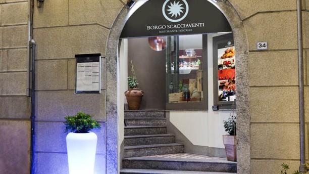Borgo Scacciaventi Entrata