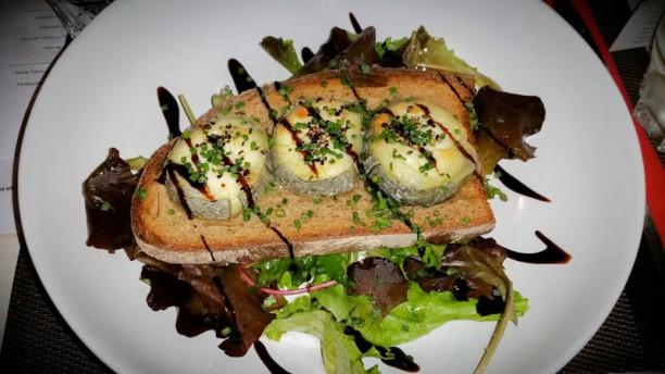 L'assiette Gourmande Toast de chèvre et son mesclun de salade
