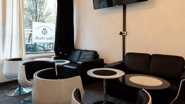 Lounge Champagne Dian Diallo Vue de la salle