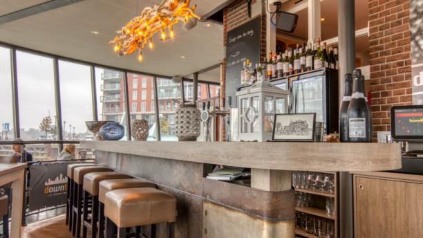 Brasserie Down Town Het restaurant