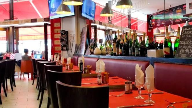 Vue de la Salle - La Taverne du Midi, Bordeaux