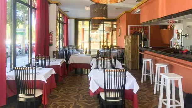 Raja Mahal Lounge Vista sala