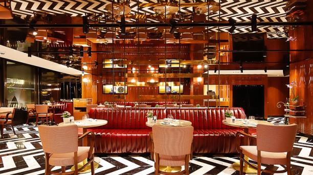 Divan Brasserie Bebek Dining room