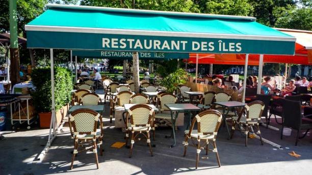 Le Restaurant des Îles Zoom sur la terrasse