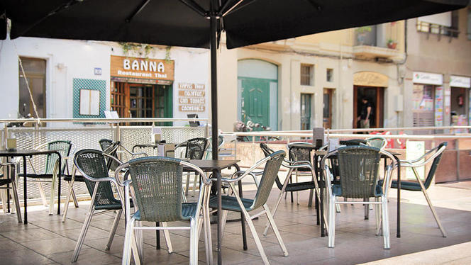 vista terraza - Banna, Barcelona