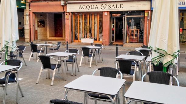 Acqua & Sale Vista terraza