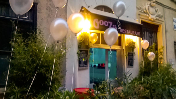 Goozii Façade du restaurant