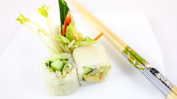 Le Kobe Sushi Jean Jaurès plat