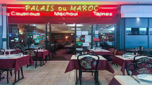 Le Palais du Maroc entrée