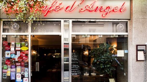 Restaurant le caf d 39 angel paris 75017 arc de - Restaurant le congres paris porte maillot ...