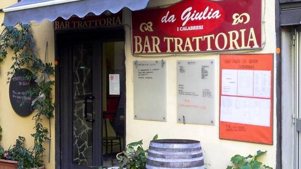 Trattoria da Giulia - I Calabresi Locale
