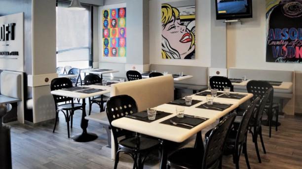 LOFT Gastronomia & Grill Vista sala