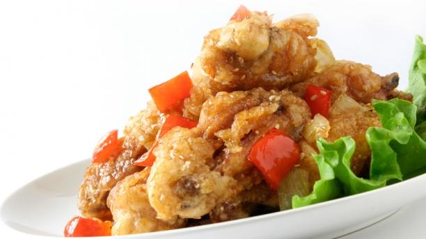 Myung Ka Ailes de poulet sautées