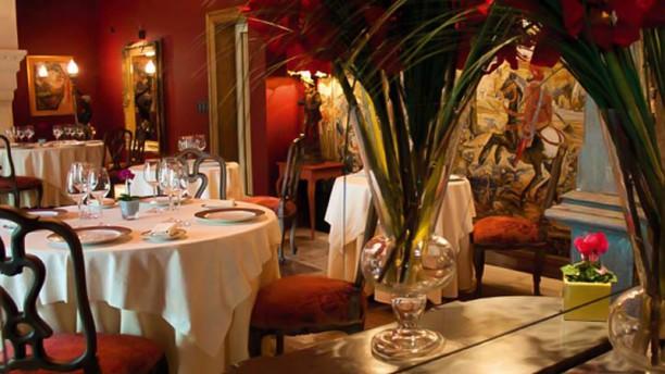 Hôtel Restaurant Villa Mazarin Vue de la salle