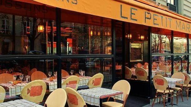 Le Petit Marius façade du restaurant