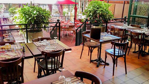 Brasserie-Restaurant de L'Union Vue terrasse