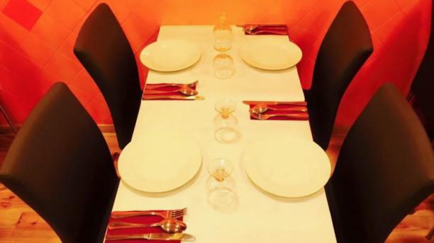 Gurkha Restaurant & Bar detalhe da mesa