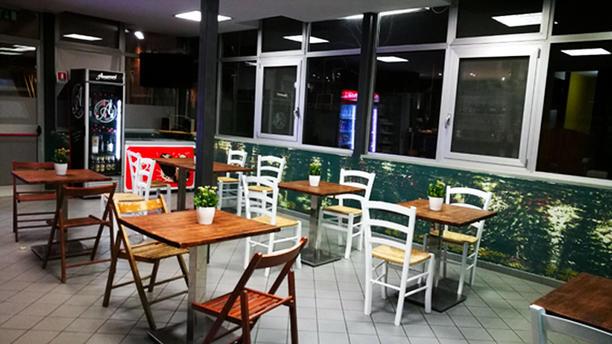 Alcampo bar e cucina Vista sala