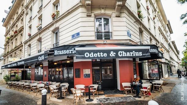 Odette Et Charlus Cafe Paris