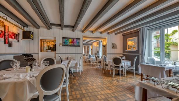 Auberge de la Croix-de-Rozon Salle du restaurant