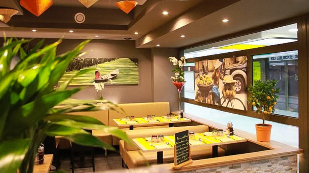 Saigon restaurant 30 boulevard de vaugirard 75015 for Intuition gourmande paris