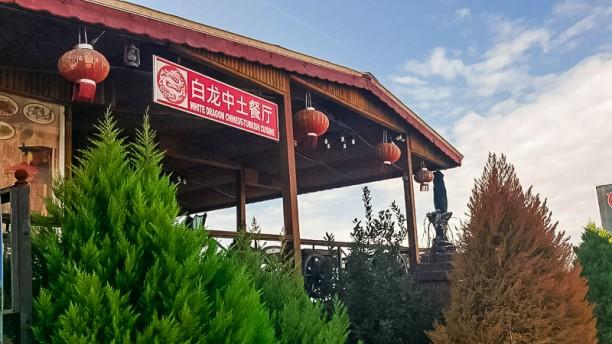 白龙中土餐厅 - White Dragon Chinese & Turkish Restaurant Entrance
