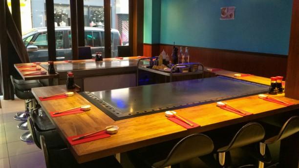 Restaurant teppanyaki sushi paris 75017 batignolles - Restaurant japonais cuisine devant vous ...