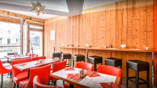 Salle du restaurant - Iskandar, Strasbourg