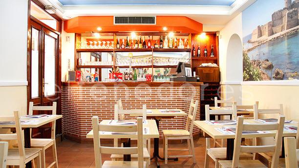 Restaurante pizzeria trattoria calabrisella en madrid for Decoracion pizzeria